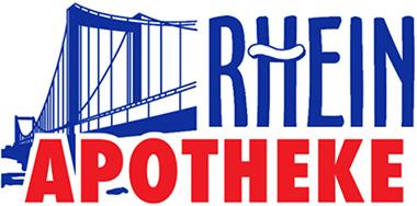 Logo Rhein-Apotheke, Inhaberin Lucie Klügge