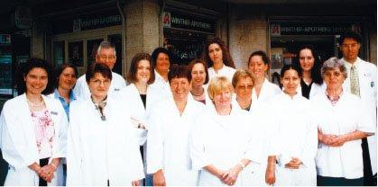 Team der Winthir-Apotheke am Rotkreuzplatz