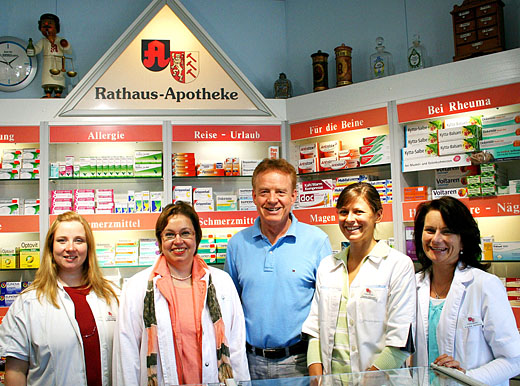 Team der Rathaus-Apotheke