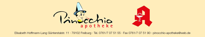 Logo der Pinocchio-Apotheke