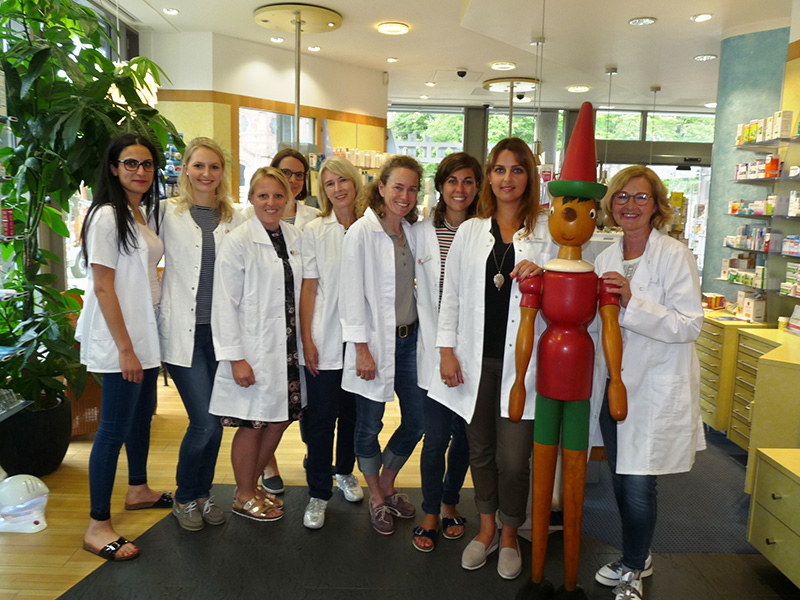Team der Pinocchio-Apotheke