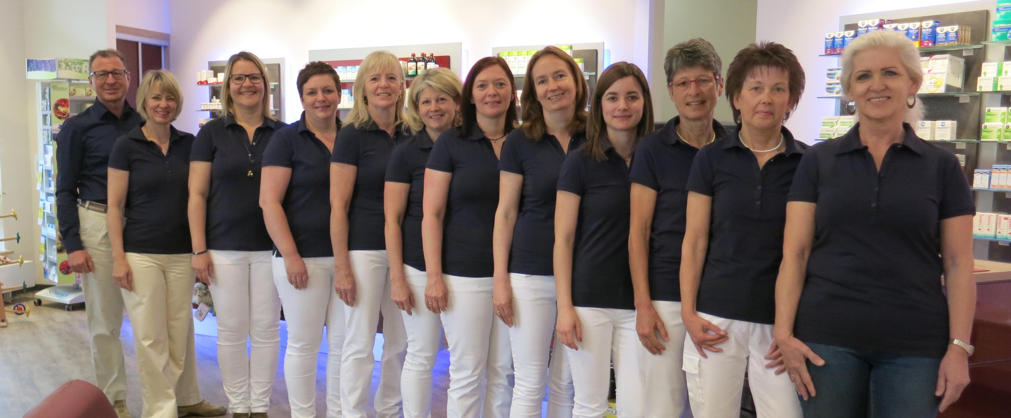 Team der Post-Apotheke