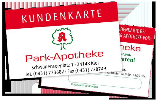 Kundenkarte | Park-Apotheke in 24148 Kiel
