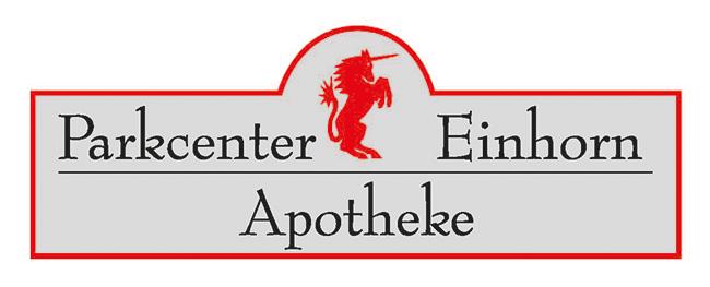 Logo der Parkcenter-Einhorn-Apotheke