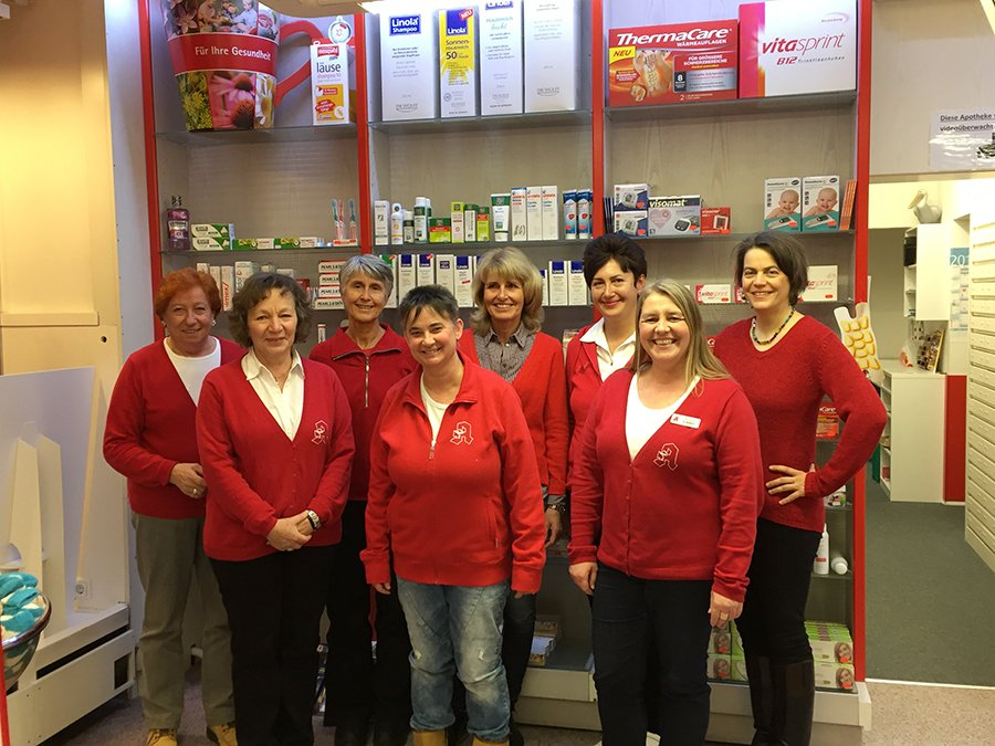 Team der Pelikan-Apotheke