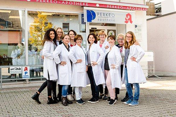 Team der Perkeo-Apotheke Brühl