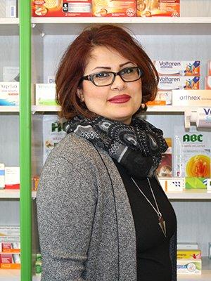 Porträtfoto von Fr. Sepideh Karimi