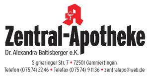 Logo der Zentral-Apotheke Dr. Alexandra Baltisberger e.K.