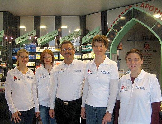 Team der Ostertor-Apotheke OHG