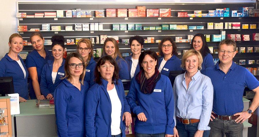 Team der Grombühl-Apotheke