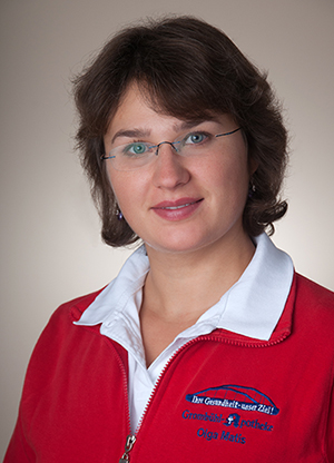 Porträtfoto von Olga Matis
