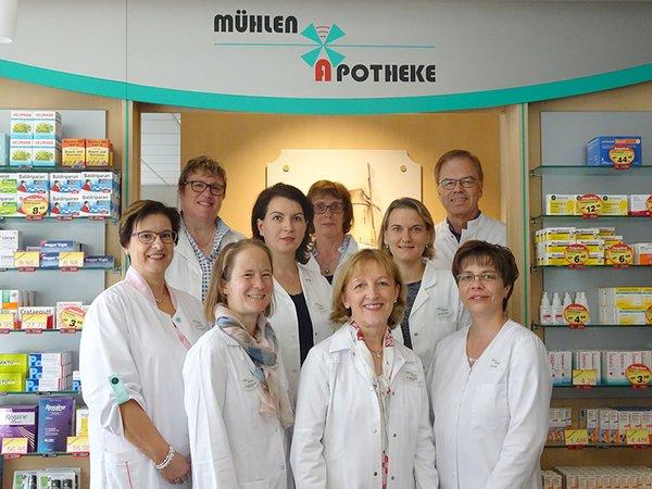Team der Mühlen-Apotheke