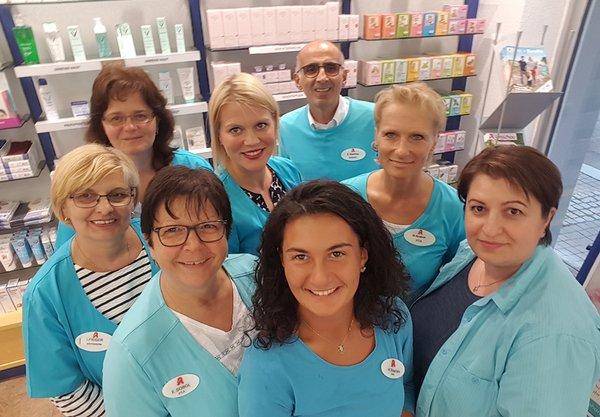 Team der Neckar-Apotheke