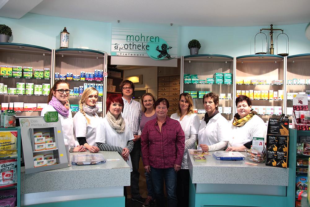 Team der Mohren Apotheke