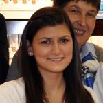 Porträtfoto von Frau Scheer