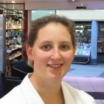 Porträtfoto von Frau Diehl