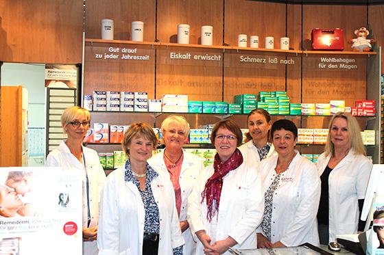 Team der berta-apotheke