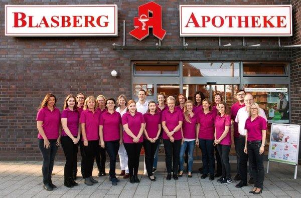 Team der Blasberg-Apotheke Dr. Matthias Grundmann e.K.