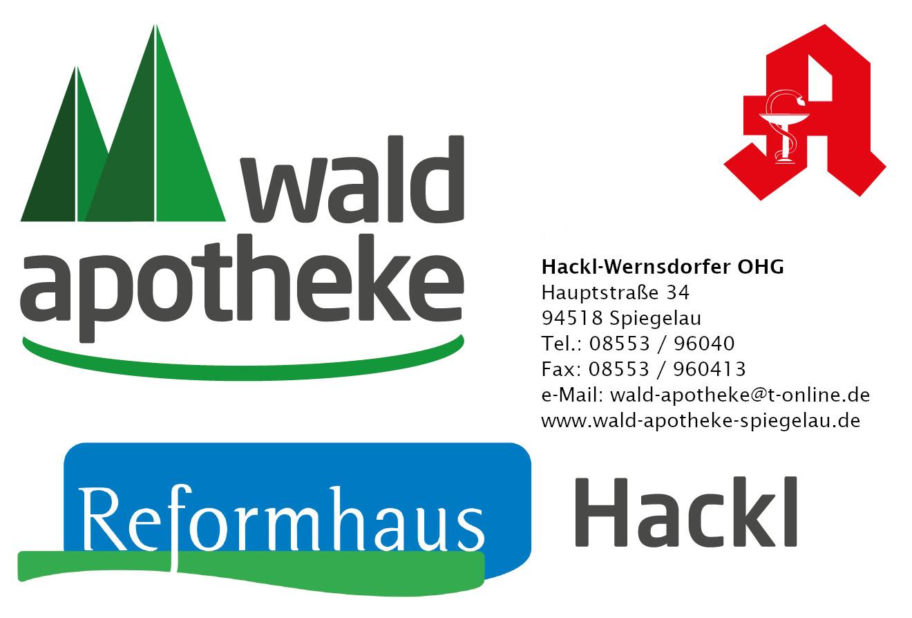 Logo der Wald-Apotheke Hackl-Wernsdorfer OHG