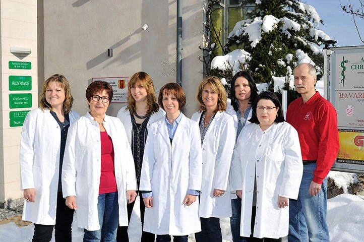 Team der Bavaria-Apotheke