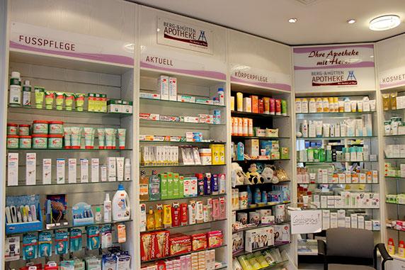 Produkte der Berg- & Hütten-Apotheke in Bochum