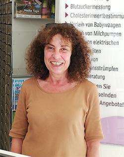 Porträtfoto von Marita Volmary