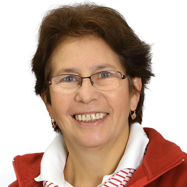 Porträtfoto von Frau Scheidt