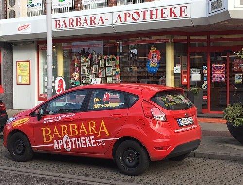 Team der Barbara-Apotheke OHG