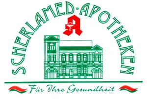 Logo der Scherlamed Bahnhof-Apotheke