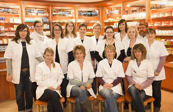 Team der Baltic-Apotheke