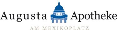 Logo der Augusta-Apotheke am Mexikoplatz