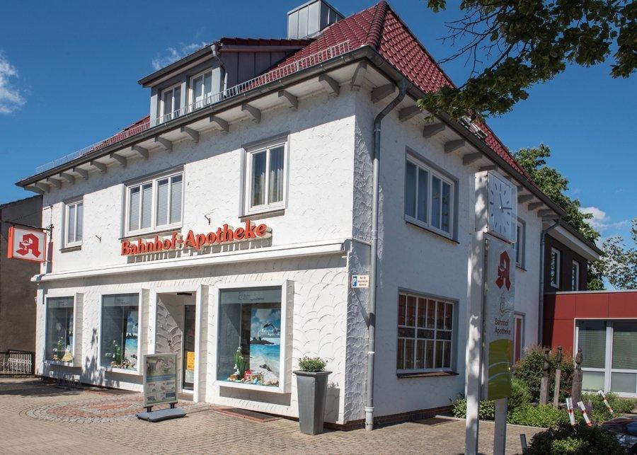 Die Bahnhof-Apotheke in der Bahnhofstraße 11 in Bremervörde