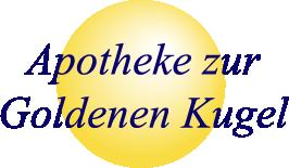 Logo der Apotheke zur Goldenen Kugel