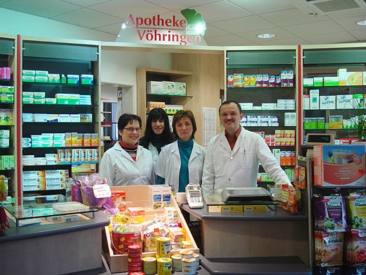 Team der Apotheke Vöhringen
