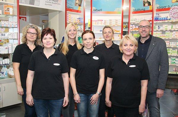 Team der Wendalinus-Apotheke
