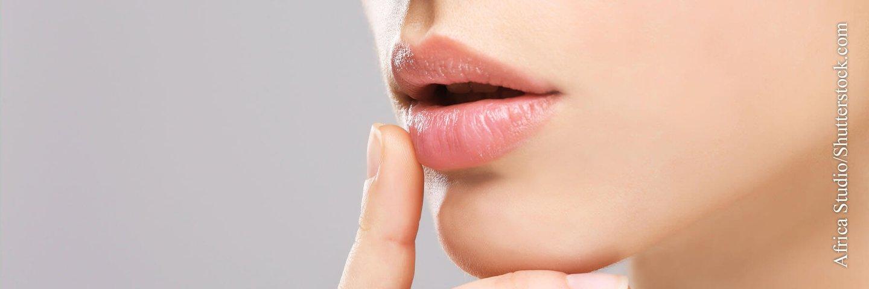 Hilfe bei Lippenherpes