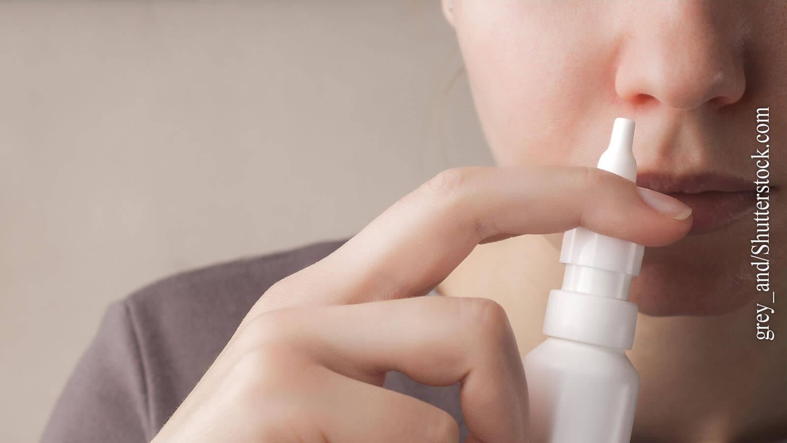 Kortisonspray befreit die Nase