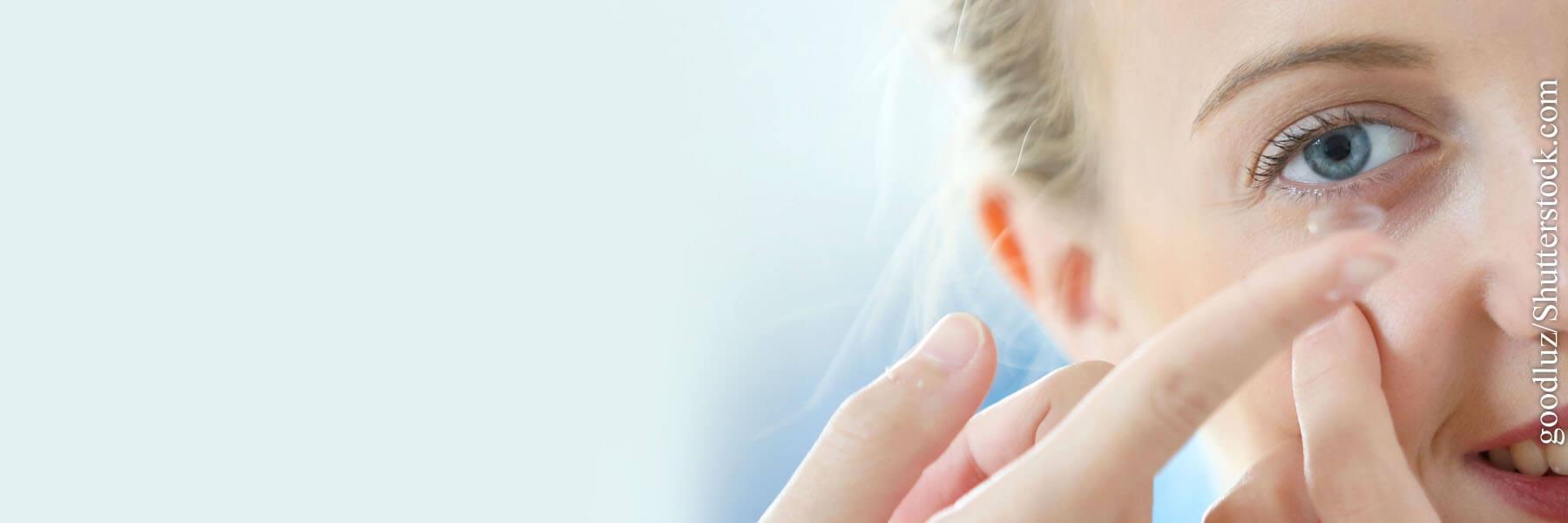Linsenpflege schützt die Augen!