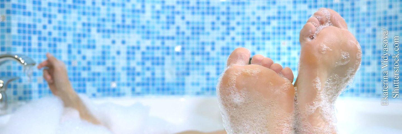Gesundbaden in der heimischen Wanne